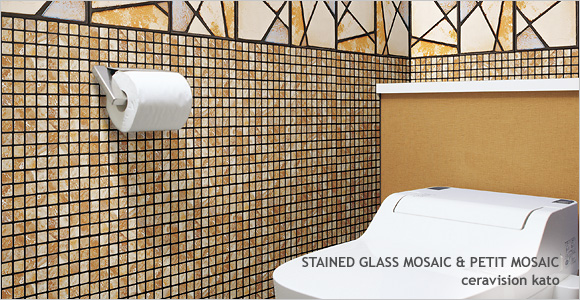 STAINED GLASS MOSAIC and PETIT MOSAIC